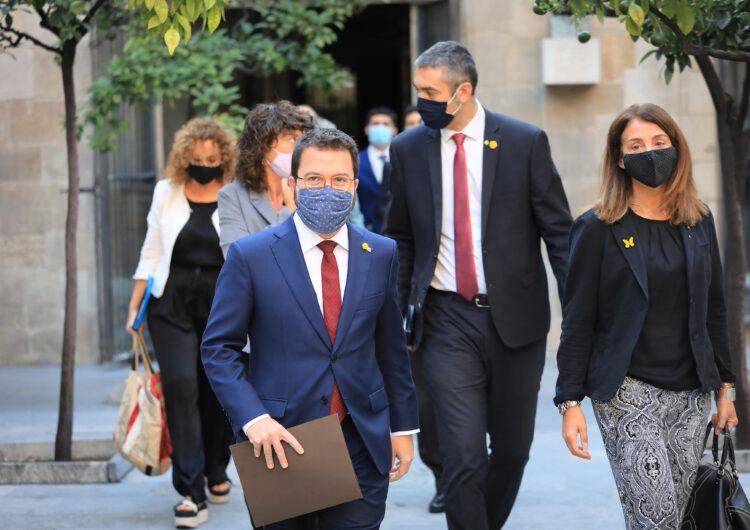 El Govern aprova el decret que converteix Aragonès en el substitut del president de la Generalitat