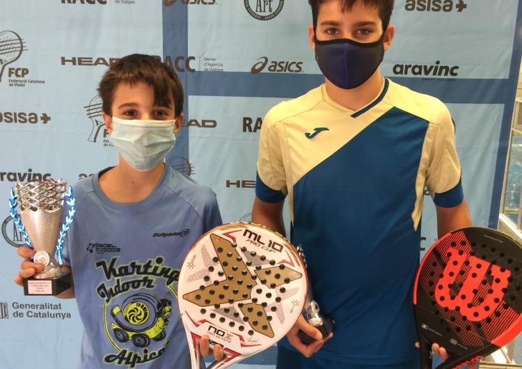 El balaguerí Íker Castillo i el seu company Gerard Navas, campions del II Súper Gran Slam Global Padel Sports