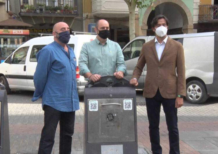 Balaguer se suma a RECICLOS, el sistema de reciclatge amb recompensa