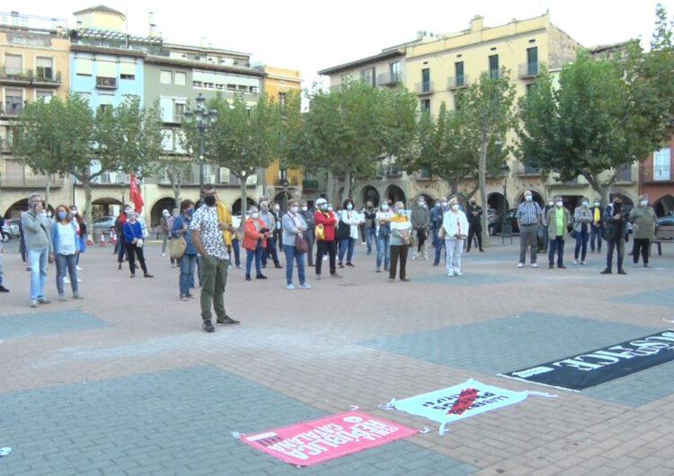 Concentració de suport al president Torra a Balaguer