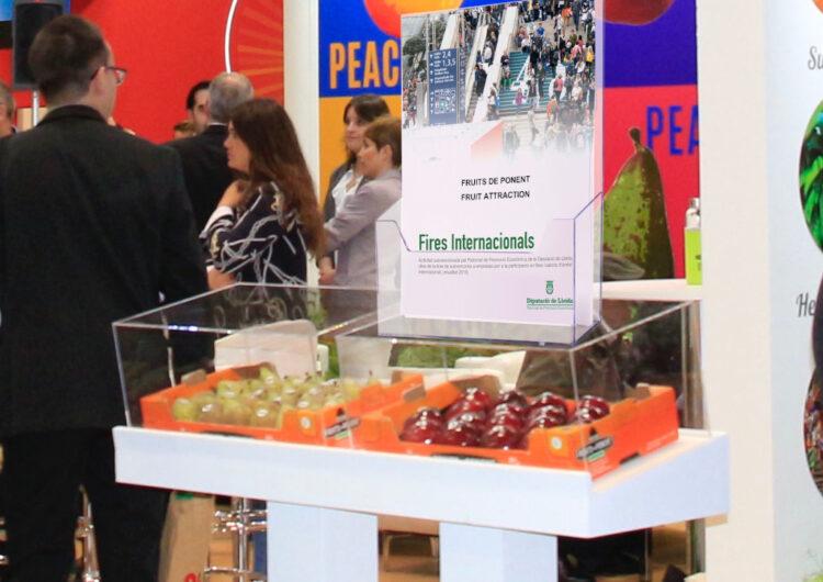 La Diputació de Lleida aportarà 128.000 € per a la promoció del territori en fires i salons d'àmbit internacional