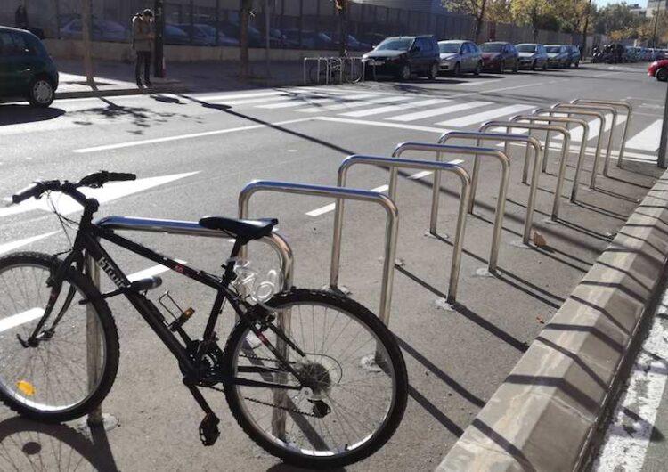 La Paeria de Balaguer instal·larà nous aparcabicicletes després d'una consulta ciutadana