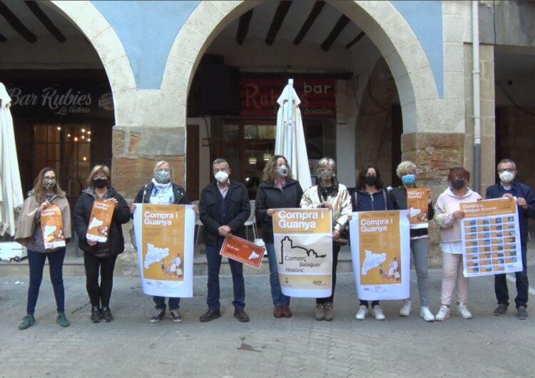 Balaguer se suma a la campanya 'Compra i guanya' impulsada per la Xarxa de Barris Antics
