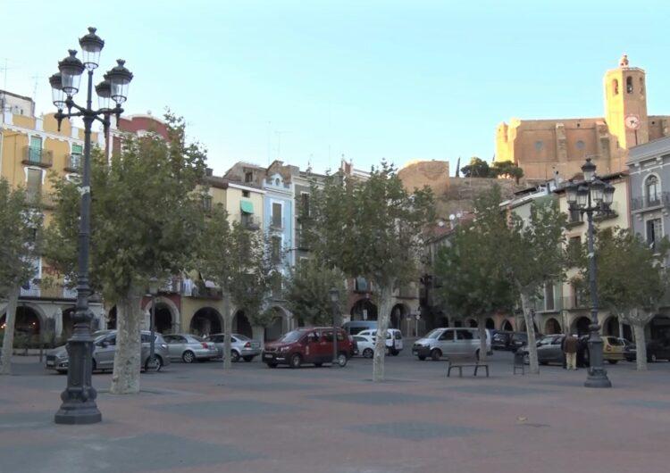 La Paeria de Balaguer canvia l'enllumenat a la plaça Mercadal