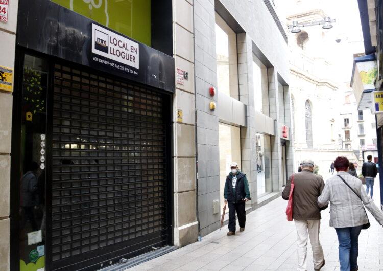 El comerç agonitza per la pandèmia i ja hi ha un 35% de locals buits a tot Catalunya
