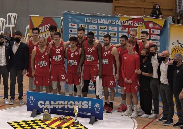 El Bàsquet Girona guanya la Final de la Lliga Catalana LEB Or davant el Força Lleida al municipal de Balaguer