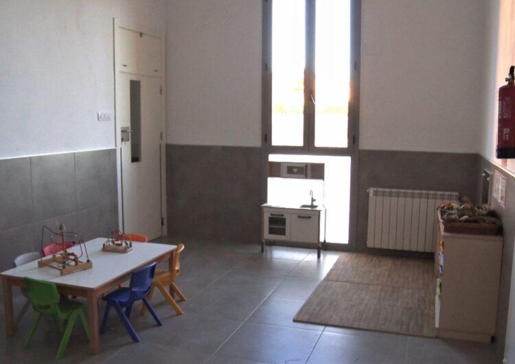Castelló de Farfanya estrena llar d'infants municipal