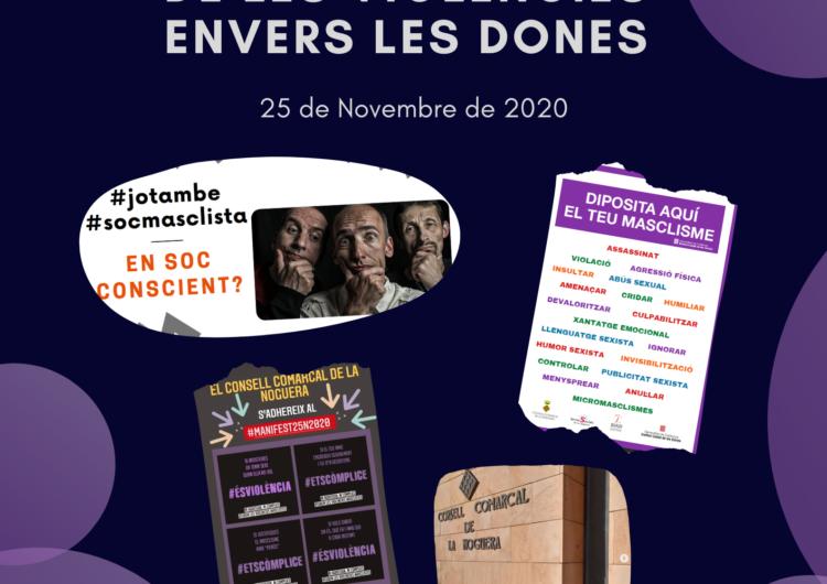 Actes a la Noguera per dir prou a la violència envers les dones