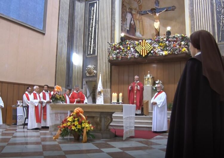 La Parròquia de Balaguer retransmetrà per YouTube la missa solemne de Festa Major