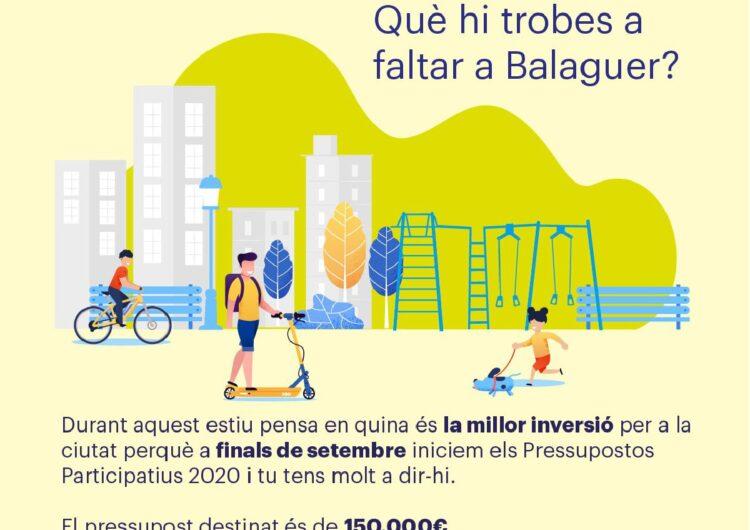 La Paeria de Balaguer presenta les propostes dels pressupostos participatius