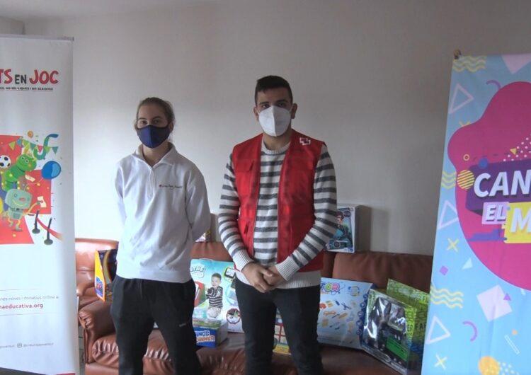 Creu Roja La Noguera repartirà joguines a més d'un centenar d'infants de la comarca