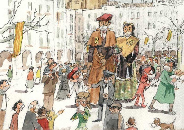 Frederic Letamendi, autor de la imatge de les Festes del Sant Crist 2020
