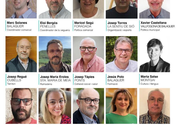 Junts per Catalunya escull la seva primera executiva a la Noguera