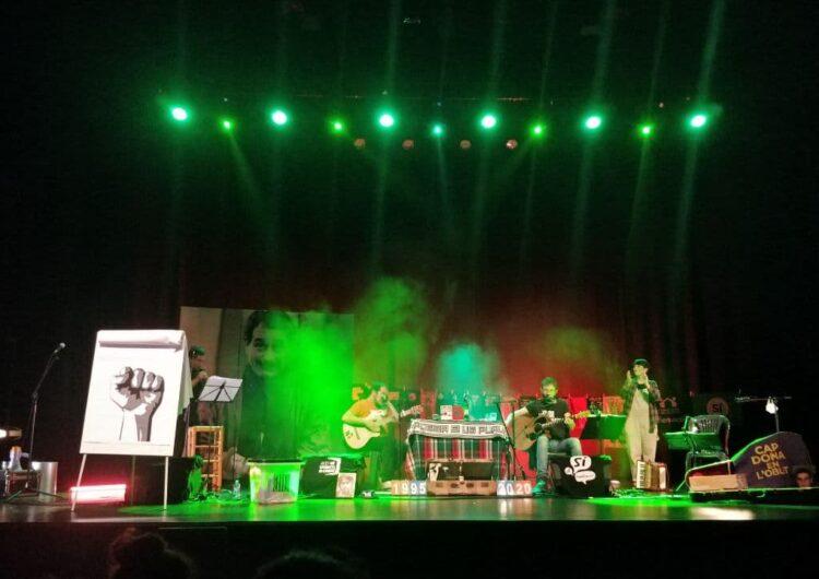 Balaguer posa el punt i final a l'edició 2020 del Barnasants recordant Ovidi Montllor i fent un cant a les llibertats