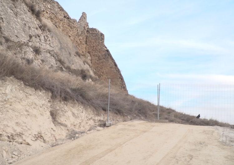 Algerri millora l'accés al castell en el marc d'un projecte de consolidació