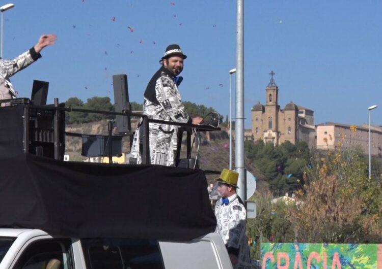 """L'espectacle infantil itinerant """"La festa sobre rodes especial Covid-19"""" amenitza la Festa Major als més petits"""