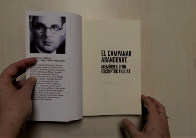 Presentació del llibre 'El campanar abandonat' de Josep Carner