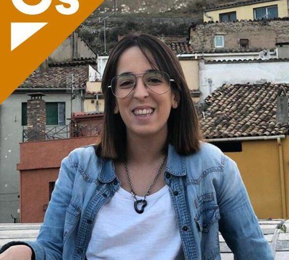 La balaguerina Cristina Daza responsable de comunicació de Cs a Lleida