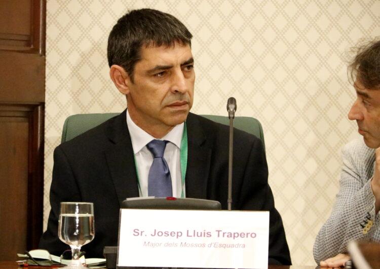 El major Trapero, restituït com a cap dels Mossos d'Esquadra després de l'absolució de l'Audiència Nacional