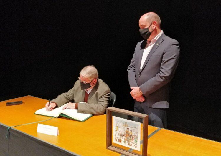 George Carner recorda el seu pare, Josep Carner i Ribalta, durant el Pregó de les Festes del Sant Crist de Balaguer