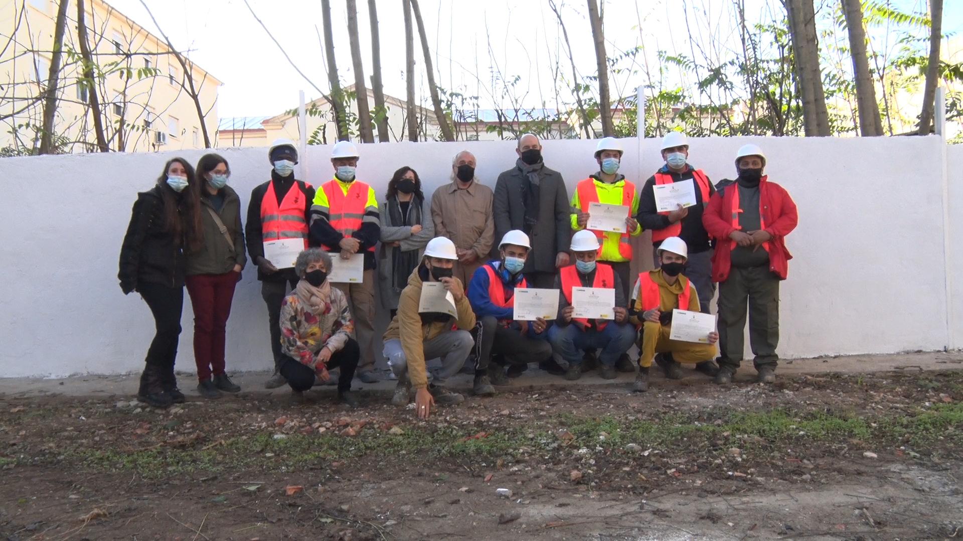 Balaguer forma professionals pel sector de la construcció