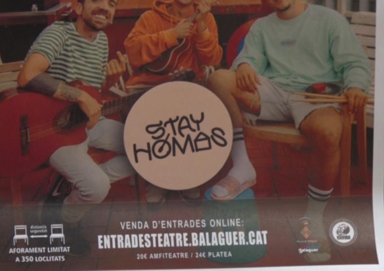 Els 'Stay Homas' tocaran a Balaguer el dia de Sant Esteve