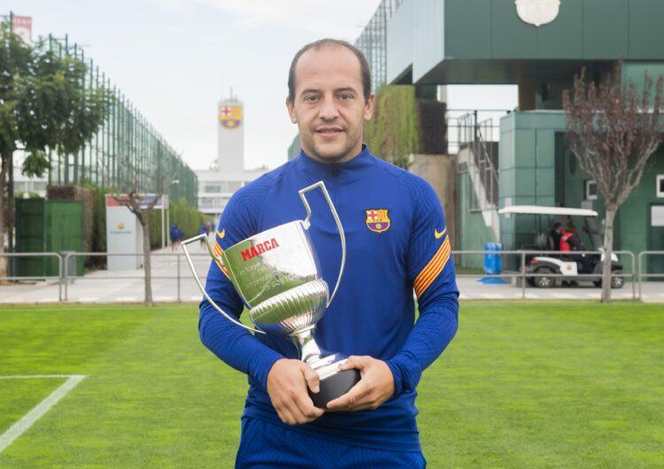 Lluís Cortés guanya el premi 'Marca' com a millor entrenador de la temporada