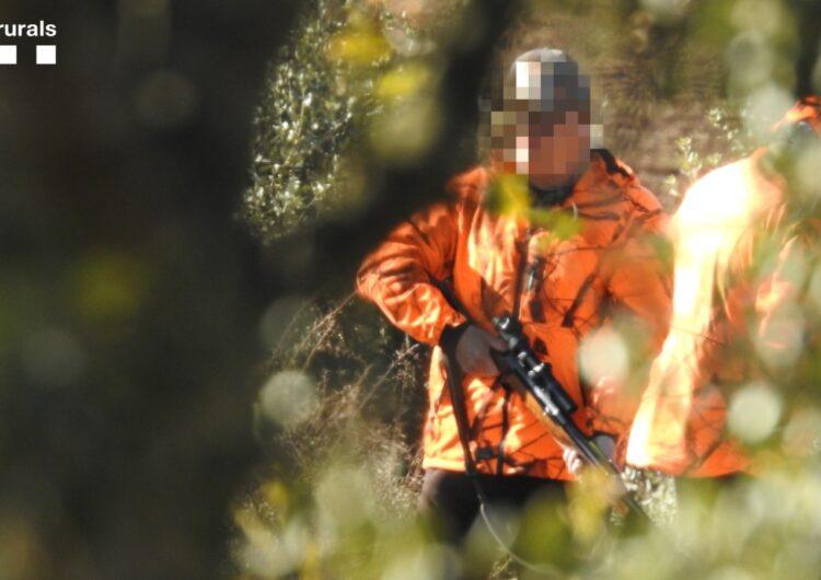 Els Agents Rurals denuncien un caçador a la Noguera