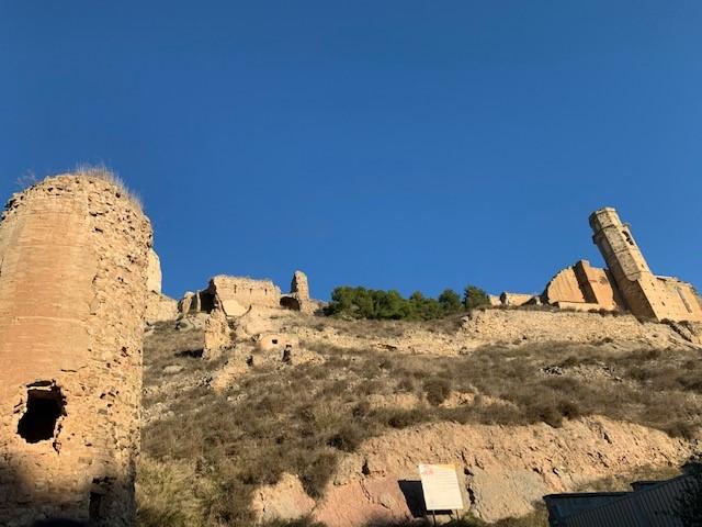 Inici de les obres de consolidació urgent de la Torre del Torrent del conjunt monumental del castell de Castelló de Farfanya