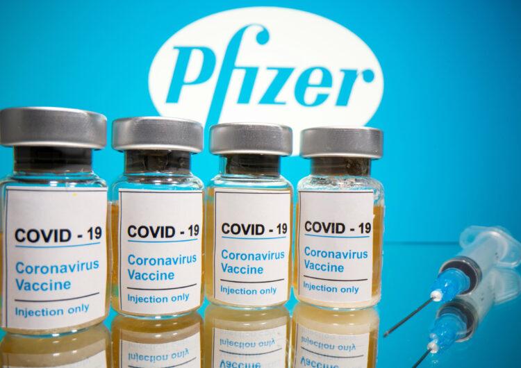 """Arriben a l'Estat les més de 350.000 dosis de la vacuna de Pfizer per iniciar la """"vacunació massiva"""""""