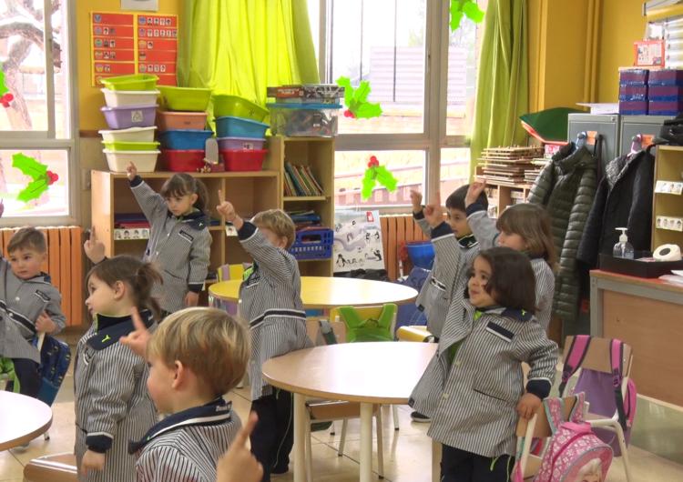 Les escoles reprenen l'activitat després de les vacances