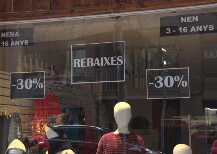 Balanç negatiu de la primera quinzena de les rebaixes d'hivern als comerços de Balaguer