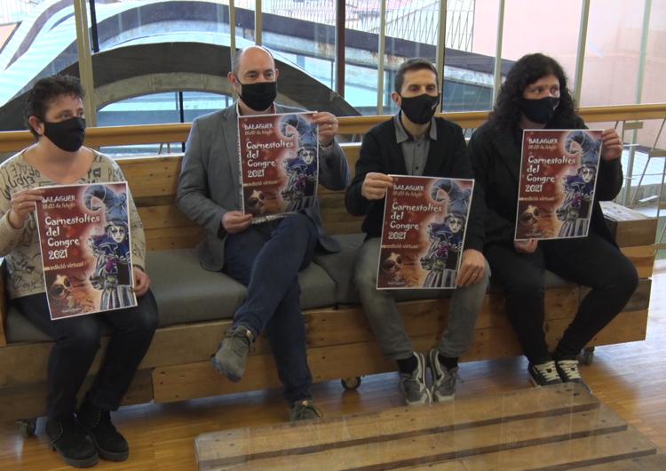 Balaguer presenta el Carnestoltes virtual d'enguany