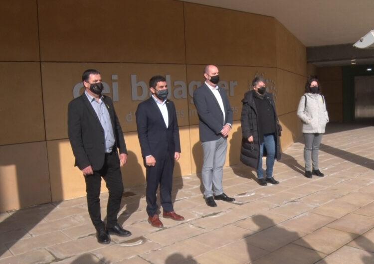 El conseller Chakir El Homrani visita Balaguer