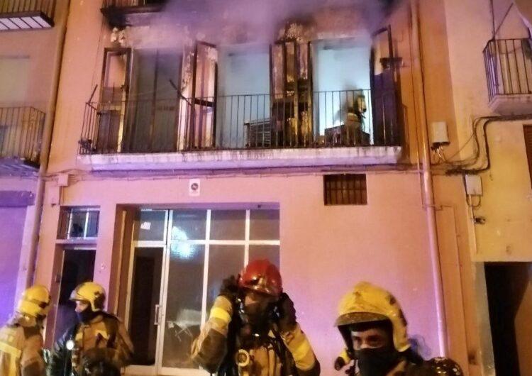 Troben una plantació de marihuana a l'edifici incediat ahir a Balaguer