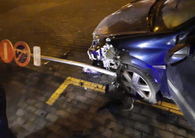 La Guàrdia Urbana de Balaguer imputa tres delictes al conductor begut que es va donar a la fuga el passat dilluns