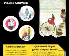 Nou servei de la Biblioteca Margarida de Montferrat 'La biblioteca a casa'