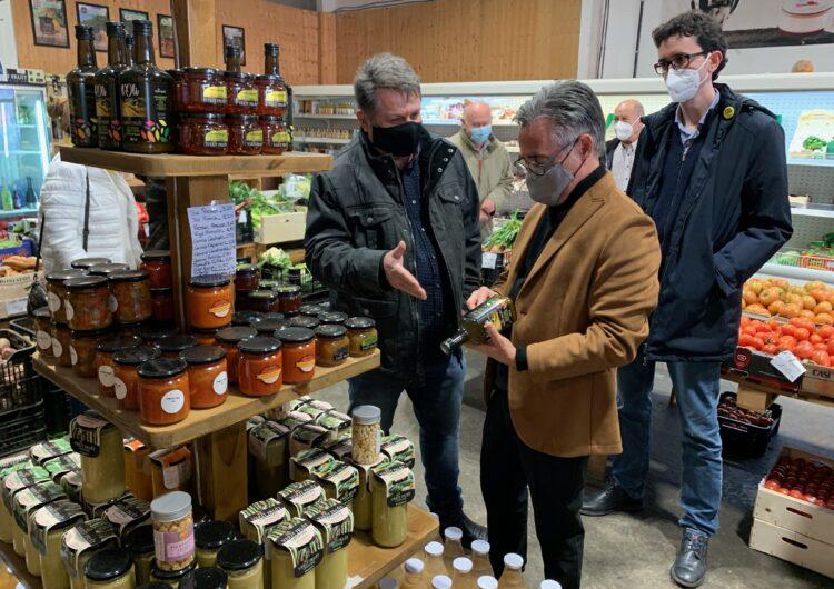 Ramon Tremosa visita la Noguera i reivindica la força de les empreses del territori