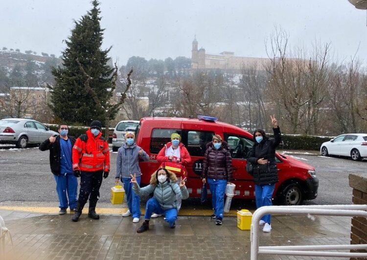 La vacuna arriba a les residències de Balaguer