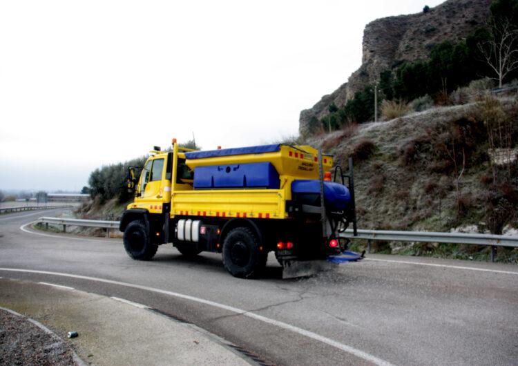 La Diputació de Lleida activa un protocol per actuar a les carreteres afectades per la neu que caurà a finals de setmana