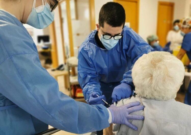 Tots els usuaris de les residències de Balaguer reben la segona dosi de la vacuna contra la Covid-19