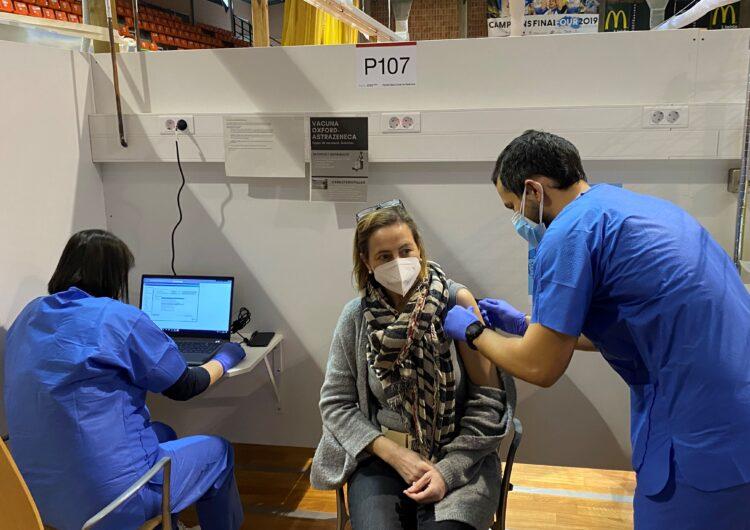 Comença a administrar-se a Lleida la vacuna AstraZeneca contra la Covid-19