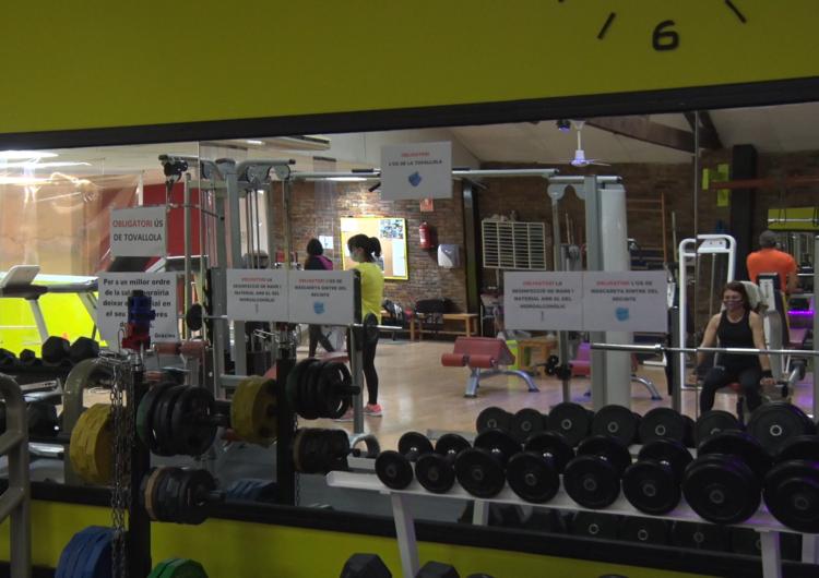 Es fleixibilitzen les mesures per als gimnasos i el sector de la restauració