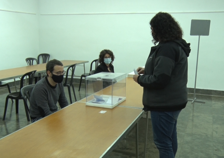 La Paeria de Balaguer ha realitzat aquest matí un simulacre de votacions