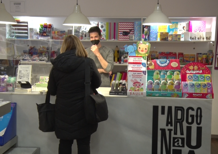 Les llibreries obren el primer cap de setmana amb l'alleugeriment de restriccions