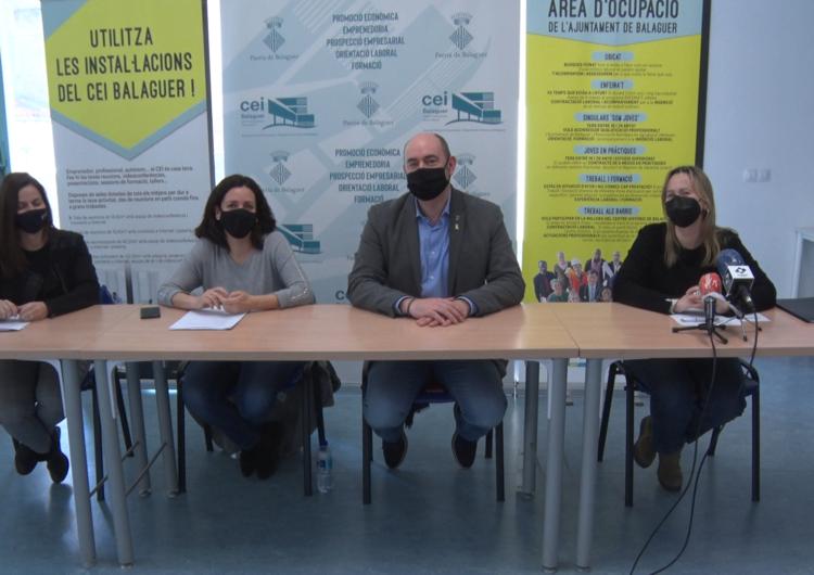 L'Àrea d'Ocupació de la Paeria de Balaguer fa un balanç positiu de les actuacions del 2020