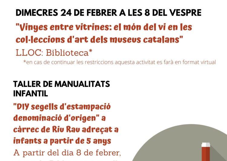 Biblioteques amb D.O. a la Biblioteca Margarida de Montferrat