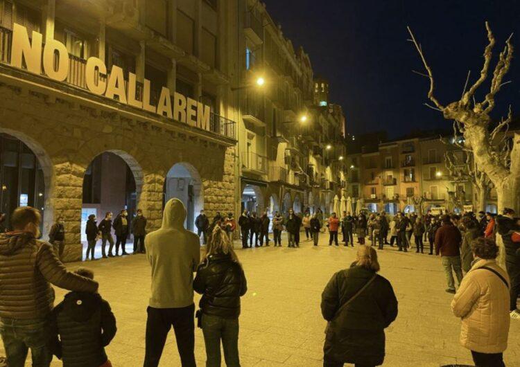 Balaguer es concentra en contra l'empresonament de Pablo Hasél