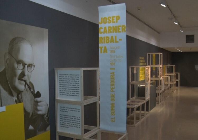 El museu prorroga la mostra 'Josep Carner Ribalta. El somni que perdura'