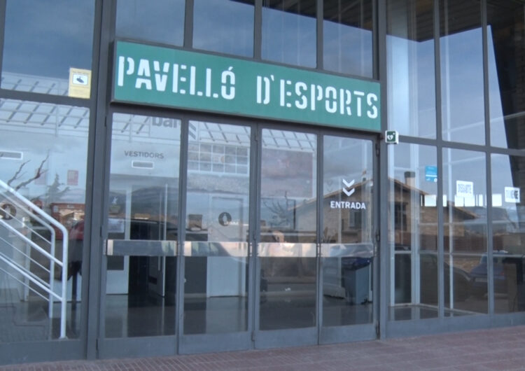 Artesa de Segre inverteix més d'un milió d'euros en el pavelló